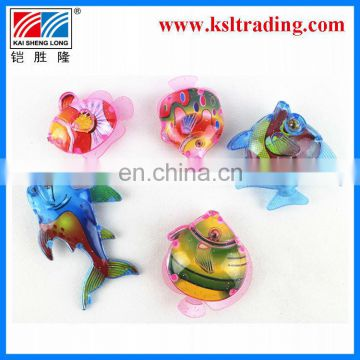 7PCS summer toy kids plastic fishing game for children