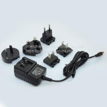5V1.5A Replacement power adapter 100-240VAC Conversion plug adapter for LED Light strips,CCTV Camera