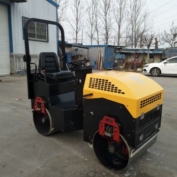 Road Machinery Equipment Ride On Double Cylinder
