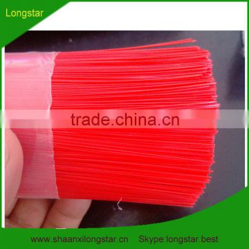 Red Plastic Artificial Pine Needles (Any type,All size and Packing requirements can meet)
