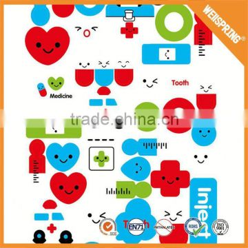 New product waterproof 3d puffy sticker fruits funny sticker hot