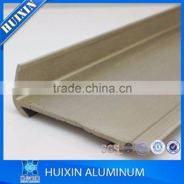 2017 top sales carpet stair nosing aluminum ceramic tile edging trim