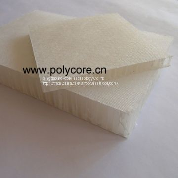 Light weight waterproof PP honeycomb act as deck in yatch