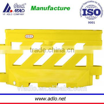 2014 new factory recycle crash security roadway plastic water barrier