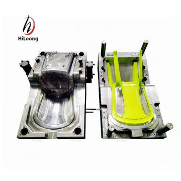 cheap injection molding plastic chairs mould with back insert