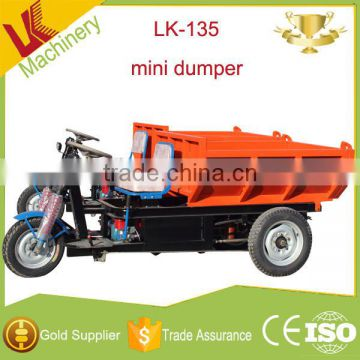 adult mini hydraulic system for dump truck/New Design three wheel used  tipper trucks/hydraulic pump for dump truck load 1 ton