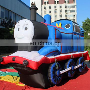 Customize Advertising Inflatable Train Cartoon for Sale