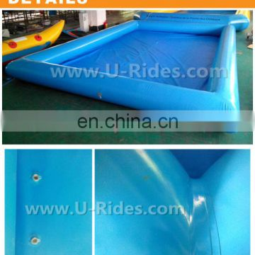 Non toxicity PVC children's colored china inflatable water pool For party