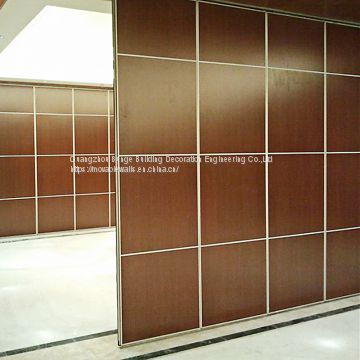 Aluminium Commercial Acoustic Room Divider Type 85 Singapore Conference Room Movable Partition Wall