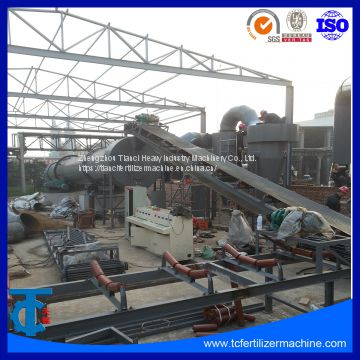 Double Roller Press Fertilizer Granulator Line