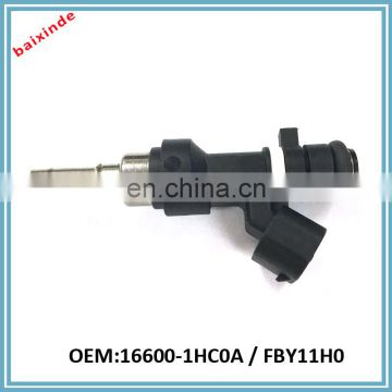 Fuel Injector Parts 16600-1HC0A FBY11H0 for NISSANs Micra K13 1.2 12V