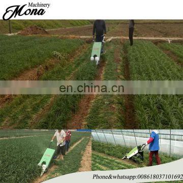 Price for Leek / chinese chives harvesting machine/ Parsley Celery Leeks harvester for sale