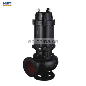 Cast iron submersible grinder water pump