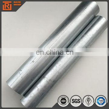 "120mm galvanized  round steel pipe 2 1/2"" astm a53 galvanized steel pipe"
