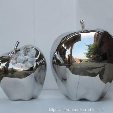 Stainless Steel Ant Sculpture Customized Sculpture Geometry Shopping Mall
