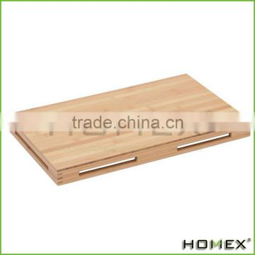 Bamboo Food Display Riser Bamboo Riser Homex BSCI/Factory