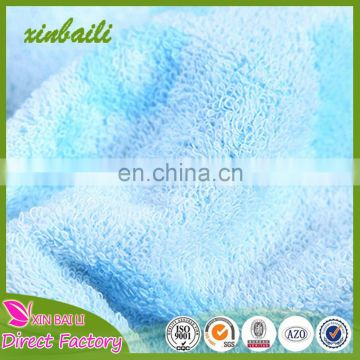 China factory wholesale baby towels 100% cotton face towels