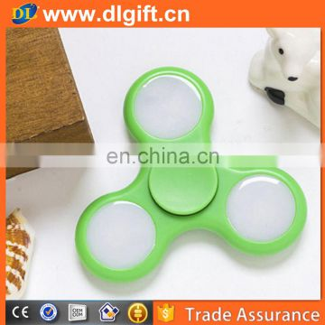 Hot Selling Finger Toy LED Fidget Spinner Hand Spinner For ADHD Anxiety Autism Stress Reducer