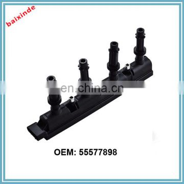 Auto parts IGNITION COIL,55577898,55579072,1208092,1208093,1208096,55573735 for GM OPEL