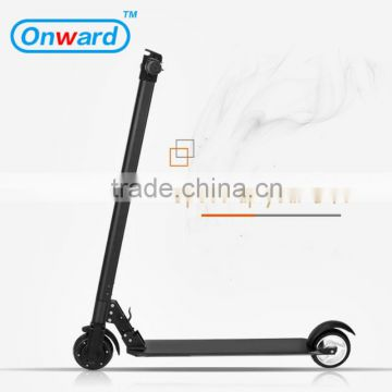 Onward 2 wheel hand brake kids kick electric scooter 2000w 60v, scooter electro with motor