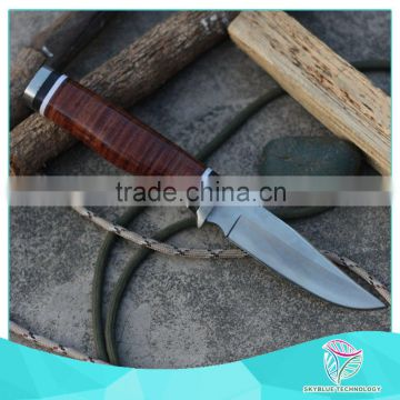 Top quality newest free sample stainless steel knife