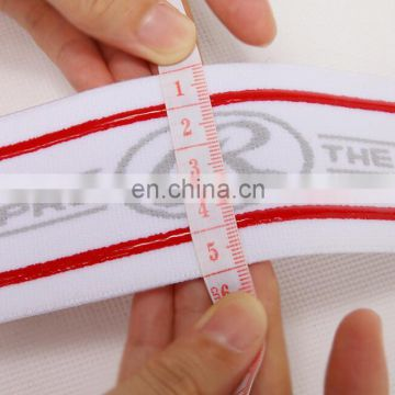High quality customzied silicone jacquard anti slip elastic tape