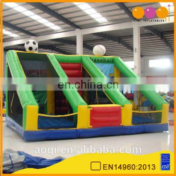 AOQI products cheapest fashional inflatable soccer target goal for kids