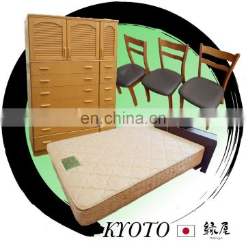High Quality Used Japanese Solid Wood Furniture/the Beds, the Shoeboxes and more at Reasonable Prices