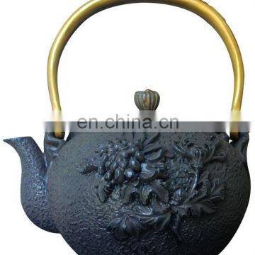 cast iron teapot 0446