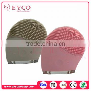 Facial Skin Scrubber Silicone Sonic Dry Skin Face Brush Ultrasonic Face Massager For Home Use of Face care apparatus from China Suppliers - 136443493