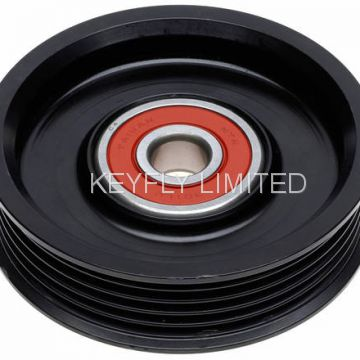 Engine-Belt Drive Idler Pulley Tension Roller Belt Tensioner Belt Tensioner Kit Belt Adjuster Shock V-Belt V-Ribbed Belt