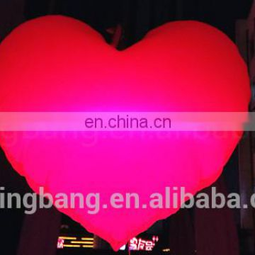 inflatable heart shape balloon for wedding decoration