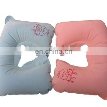 inflatable couples travel neck pillow