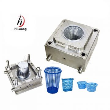 taizhou huangyan hiloong plastic mould factory household mould basket mould