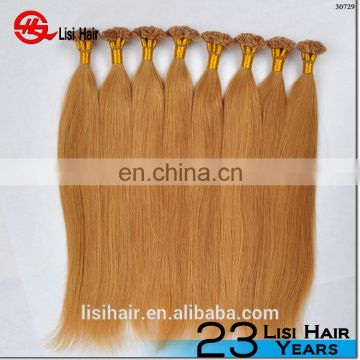 YBY flat tip hair , chocolate hair extension , flat tip hair extension