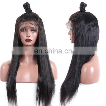 Glueless full lace 100% human hair wig