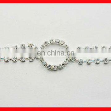 round crystal rhinestone swimwear accessories