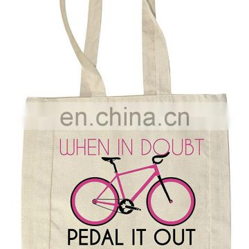 Eco-friendly Customized Logo Tote Bag Cotton Canvas