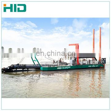HID-6024 New cutter suction dredging machine gold sand mining dredge dredger for beach dredging on sale