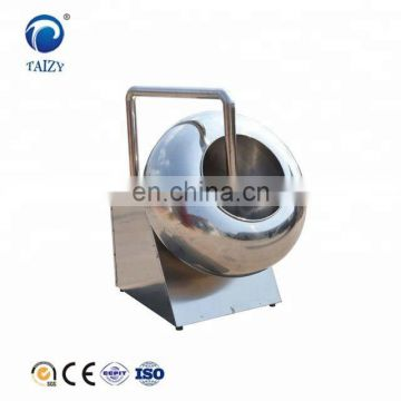 Caramelized nuts sugar chocolate coating pan machine
