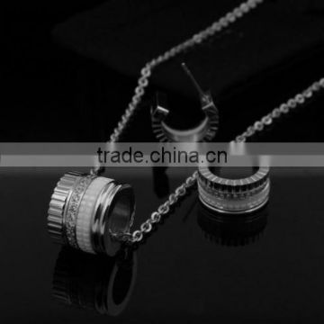 new trend wholesale fashion silver replica jewelry set                                                                         Quality Choice