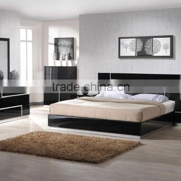 Brilliant China Manufacturer Modern Home Hotel Furniture Black High Gloss Bedroom Sets Sz Bfa8005 Download Free Architecture Designs Rallybritishbridgeorg