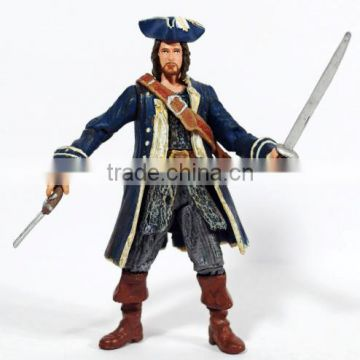 custom Pirates of the Caribbean action figures lot toys,custom make plastic action figure lot caribbean pirates