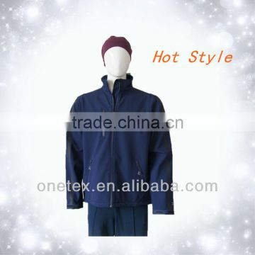 Men's heat sealed pocket softshell jacket