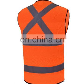 safety protective clothing reflective safety construction vest conform to EN ISO 20471/EN471