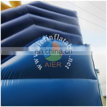 2017 Aier Home and mall used commercial giant inflatable slide for kids or adult / fun inflatable slides toys for adults