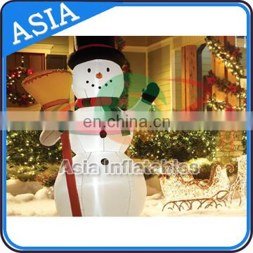 Lighting Inflatable Outdoor Snowman for Holidays