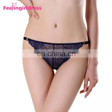 High Quality White Seamless Low Waist Tight Underwear Women Sexy