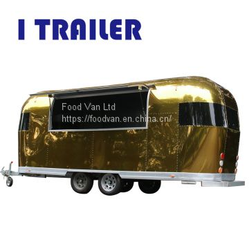 iTrailer new condition electric concession fast food caravan