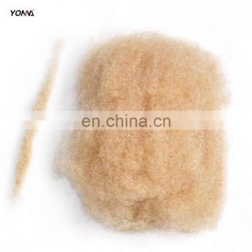 4pcs/lot tight Afro Kinky Bulk Hair 100% Human Hair For DreadLocks,Twist Braids Blonde Hair